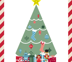 Christmas Tree Wall Hanging