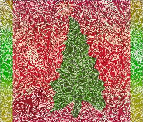 Tannenbaum Tree Wall hanging