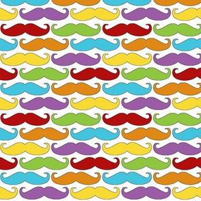 Mustache Rainbow