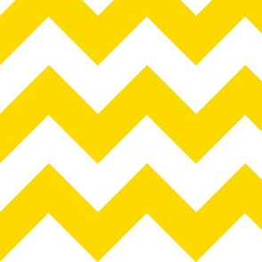 Chevrons Yellow and White