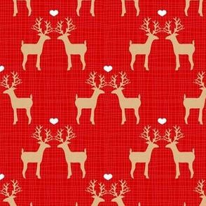 I Love You, Deer (Red)