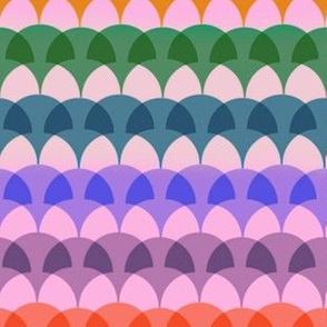 Rainbow Ginkgo Overlay