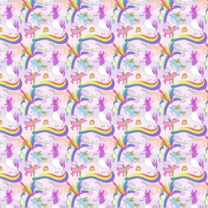 Unicorn Repeating Pattern