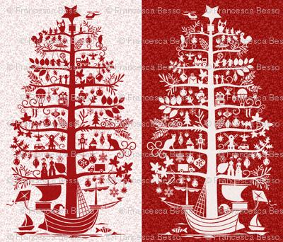 Christmas Tree - Ship Wall Hanging