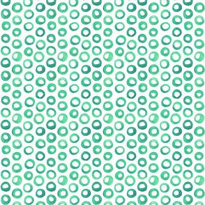 Greenish Dots