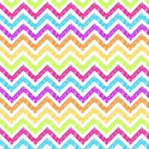 Chevron Sparkle glitter Stripe Multi smallest