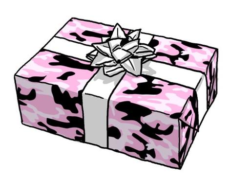 Pink Army Camo pattern