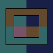 Locke Quadrilaterals on Vertical Stripes