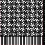 Houndstooth Shopping Bag - Cut'N'Sew