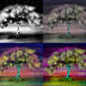 AWAKENING OF A LUMINESCENT TREE