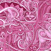 Psychedelic Magenta Valentine