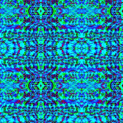 Palace Candles (Blue) fabric by mugglz on Spoonflower - custom fabric