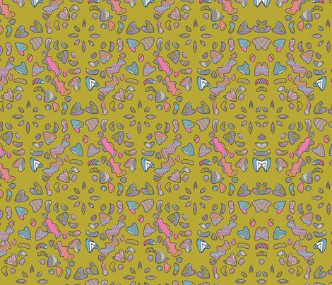 Joyce_Quinn_Snowflake_Patterns fabric by joyce_quinn on Spoonflower - custom fabric