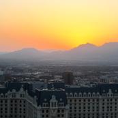 Bursting Lights of Las Vegas
