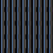Medium Blue City Stripe