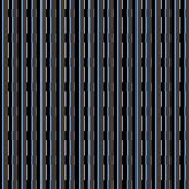 Small Blue City Stripe