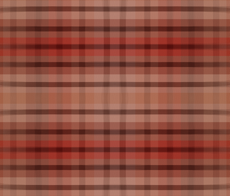 Paint Roller Plaid fabric anniedeb Spoonflower