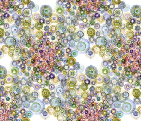 concavity_muted fabric by nerdlypainter on Spoonflower - custom fabric