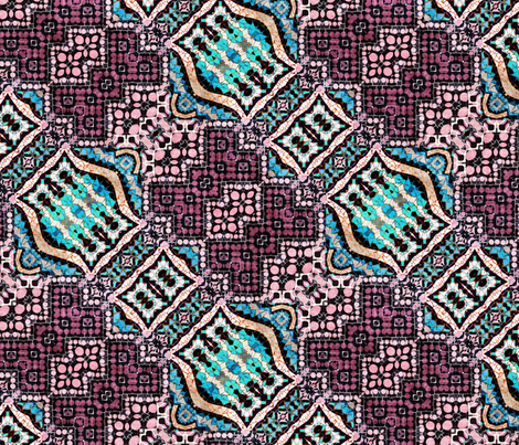 barcelona 8 fabric by kociara on Spoonflower - custom fabric