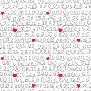 valentines scribble