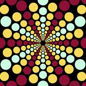 radiating spots 3