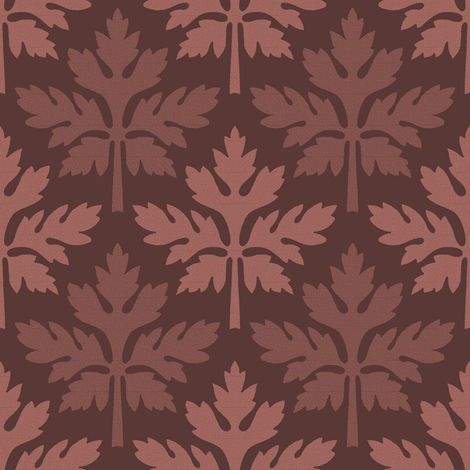 Mulberry Leaves fabric by peacoquettedesigns on Spoonflower - custom fabric