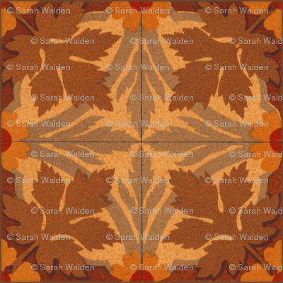 Autumn Leaves ~ Tiles