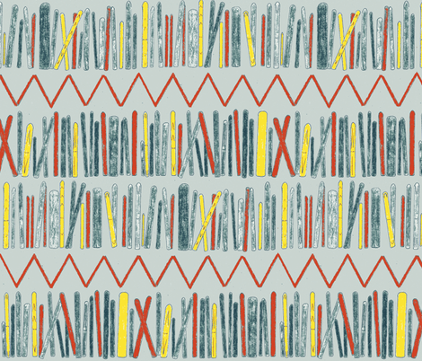 Rack 'em up fabric by idaho13 on Spoonflower - custom fabric