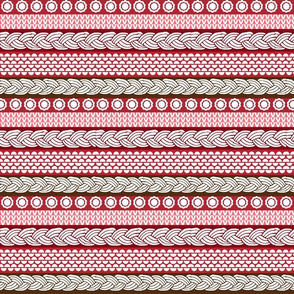 Candy Cane Cables