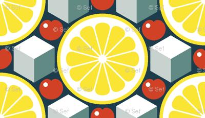 apres ski - lemon, cherry and ice
