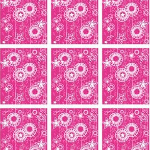 Star Flurry in Pink