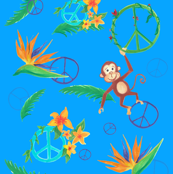 Jungle Peace Monkey