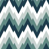alpine zigzag