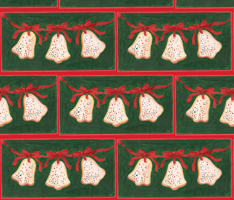 Sugar Bells fabric by me_amelia on Spoonflower - custom fabric