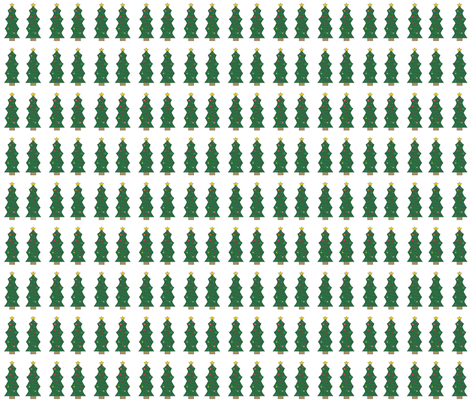 Christmas Tree fabric by kassadee on Spoonflower - custom fabric