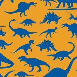 Dino Walk Bluorange