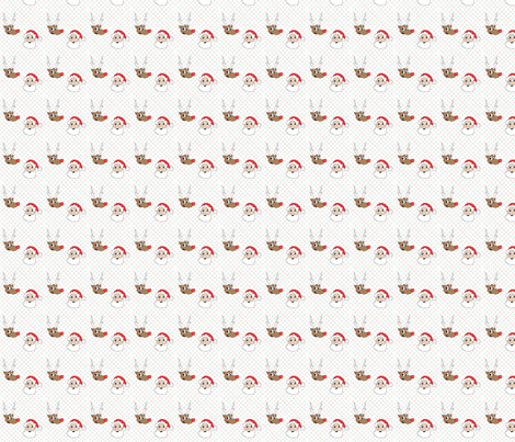 UglySweaterSanta fabric by samfreitas687 on Spoonflower - custom fabric