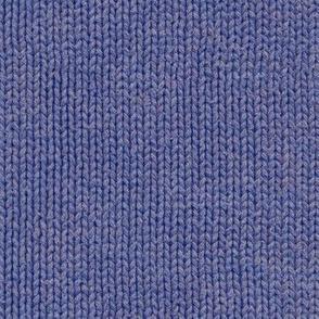 weathered blue knit