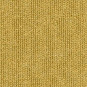 yellow gold knit