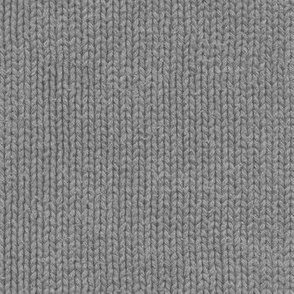 classic grey knit