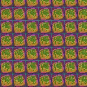 Neon Green Mahjong