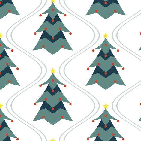 fir tree slalom