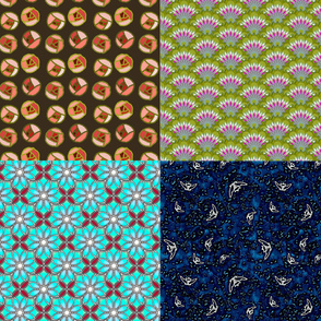 four seasons fat quarter bundle