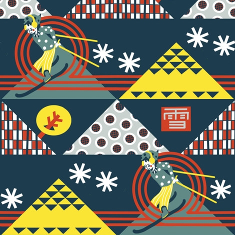 RetroActive fabric by susan_polston on Spoonflower - custom fabric
