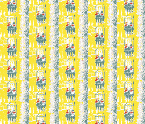 M_M_ski_lift-ch-ch-ed fabric by mandylee on Spoonflower - custom fabric