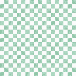 Pantone Hemlock Green Checkerboard