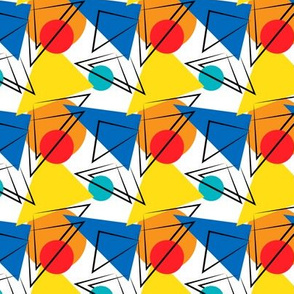 Retro Contemporary Geometric Pattern