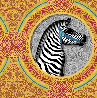 The Carousel Zebra