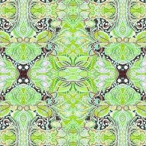 Victorian Excess (lime green)