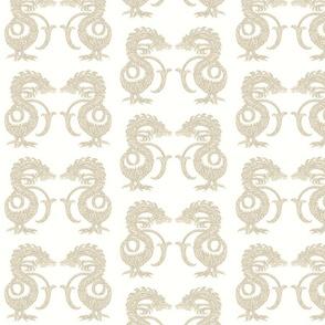 Dragons at Dawn - Soft Neutral